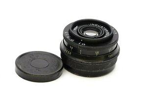 M42 Industar 50-2 50mm 1:3.5 Soviet Prime Lens Festbrennweite Objektiv