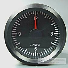VDO QUARZ UHR - ZEITUHR  ELECTRIC CLOCK  INSTRUMENT ANZEIGER  12V   52mm