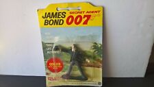 """GILBERT ACTION FIGURE, JAMES BOND, """"ODD JOB"""" 1965 ORIGINAL PACKAGING"""