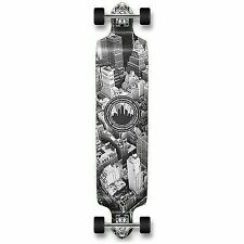 Yocaher Professional Speed Drop Down Complete Longboard Skateboard Beach