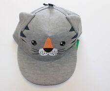 Children's Cat Hat Cap Visa Toddler Kids Summer Sun Protection Head Sunblock
