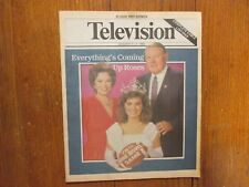 Jan 1-1989 St. Louis Post TV Magaz(SHIRLEY  TEMPLE/KAREN CARPENTER/CYNTHIA GIBB)
