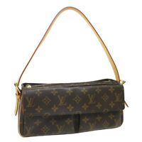 LOUIS VUITTON VIVA CITE MM HAND BAG DU0015 PURSE MONOGRAM CANVAS M51164 36122