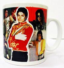 Michael Jackson Taza Collage homenaje Taza de Cerámica Regalo Perfecto decorado en Reino Unido