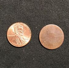 Blank One Cent Penny Planchet U.S. Coin