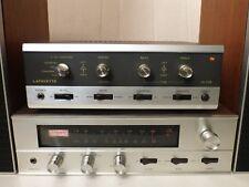 Lafayette LA 524 60W Amplifier w 4-Channel SQ Decoder + LT 425T AM/FM Tuner RARE