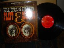 FLATT & SCRUGGS-Folk Songs OF Our Land-1962 columbia no. CS-8630- C-VG++/  V-M-