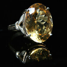 CITRINE GOLD RING 12CT CITRINE 9CT GOLD