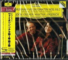 GIDON KREMER & MARTHA ARGERICH-SCHUMANN:VIOLIN SONATAS NO.1 & 2-JAPAN SHM-CD D20