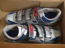 Sidi Zeta Mesh Womens Road Cycling Shoes Size 40 New blue/silver