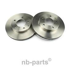 2x Brake Discs Front ø258 Vented Ford USA Probe II Mazda 626 V MX-6 Premacy