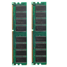 2GB 2x1GB DDR400 PC3200 400MHZ NON-ECC Destop PC 184PIN MEMORY RAM High Density