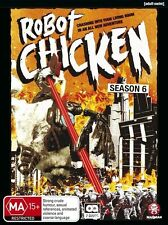 Robot Chicken Season 6 DVD Region 4 BRAND NEW