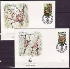 Brasil 1984 - FDC - Apen / Monkeys / Affen   (WWF / WNF)