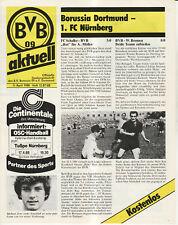 BL 87/88 Borussia Dortmund - 1. FC Nürnberg