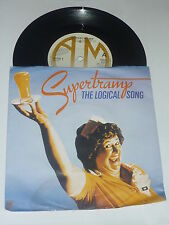 "Supertramp-THE LOGICAL SONG - 1986 UK 2-track a&m Label Vinyle 7"" avec manche"