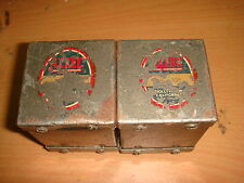 2 X ALTEC PEERLESS TBB-103 AUDIO INPUT TRANSFORMER