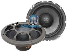 "MOREL VIRTUS MW6 6.5"" CAR AUDIO 4 OHM 300W MAX MID WOOFERS SPEAKERS PAIR NEW"