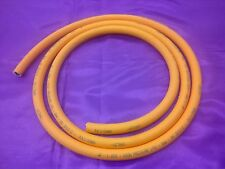 4 Metre x 8mm Inner Diameter LPG Propane Butane Gas Orange Hose Pipe 4 m x 5/16""