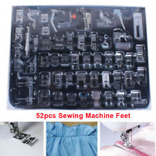 52pcs Presser Foot Feet For Brother Singer Domestic Sewing Machine Part Tool Kit