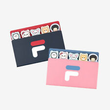 FILA KOREA x WONNIE FRIENDS Edition Two Steps Adhesive Sticky Note Memo