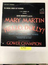 Hello Dolly Original London Cast Recording  Vinyl  LP Album