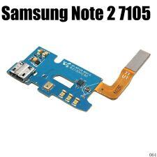 Genuine Samsung Galaxy Note 2 II N7105 LTE USB Charging Dock Port Mic Flex Cable
