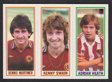 Topps - Footballers (Blue Back) 1981 - # 14 20 98 Aston Villa Stoke