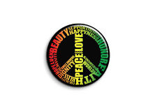 Peace and Love - peace good love-1 - Badge 25mm Button Pin