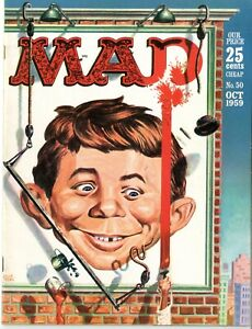 Mad    #50     VERY FINE+    October 1959   EC   See photos