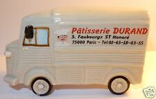 CHARM MAXI FEVE PORCELAINE 3D CITROEN HY TYPE H TUB PATISSERIE DURAND PARIS 1/43