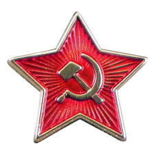 Russian Soviet Star Metal Enamel Lapel Pin Badge /Tie Pin  XJKB12-10