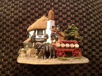 Lilliput Lane The Drayman The British Collection L2362 2000 Boxed.         (906)