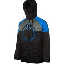 Nomis BREAKER 10K Mens Front Zip Snowboarding Ski Hoodie Jacket Sz XL Black NEW