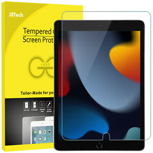 JETech Screen Protector for iPad 9/8/7 2021/2020/2019 10.2-Inch Tempered Glass