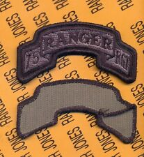 75th Infantry Airborne Ranger Regiment ACU uniform scroll patch m/e