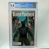 Black Panther #1 CGC WP 2016 Marvel Comics 1st Comic Work of Ta-Nehisi Coates