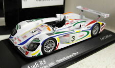 Minichamps 1/43 Scale 400 010903 Audi R8 24H Le Mans 2001 #3 Diecast model car