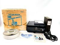 Vintage Sears Whisper-matic IV 2x2 Slide Projector - Tested