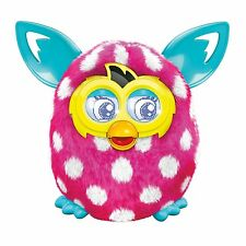 Furby Boom Figure Polka Dots Electronic Talking Pet Ages 6 Toy Boys Girls Hasbro