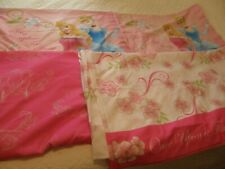 Disney Princess Full Sheet Set  - Once Upon A Time Flat Fitted 2 Pillowcases EUC