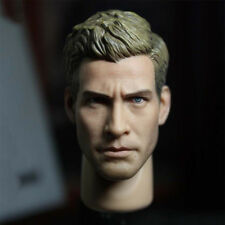 """1/6 Scale Jake Gyllenhaal Head Sculpt Carved Headplay For 12"""" Action Figure Body"""