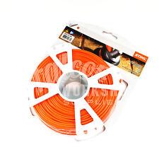"""GENUINE STIHL STRIMMER WIRE 2.4mm (0.95"""") 14.6m ROUND ORANGE BRUSHCUTTER LINE"""