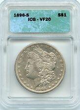 1896-s Morgan (ICG VF-20) SEE PROMOTION)