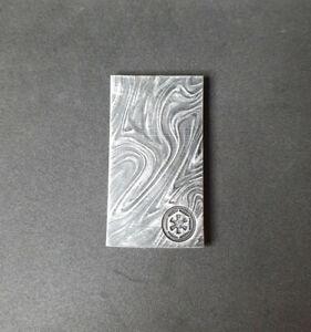 Beskar ingot fridge magnet, Star Wars inspired magnet. Mandalorian resin item.