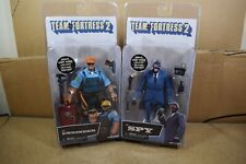 Neca TEAM FORTRESS 2 SERIES 3.5 Set of 2 Action Figures BLU THE ENGINEER & SPY