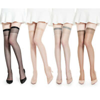 Women Ladies Sexy Lace Stockings Pantyhose Thigh High Hold Ups Tight Hosiery