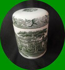 "Wedgewood of Etruria, Barlaston Tobacco/ Jar 5"" Vintage Piece Rare"