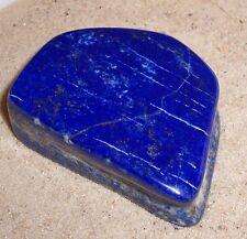 665   ct echter XL Lapislazuli mit Pyrit handpoliert  Heilstein. Edelstein ,