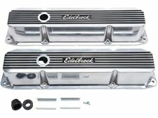For 1974 Dodge M300 Engine Valve Cover Set Edelbrock 18872CY 7.2L V8